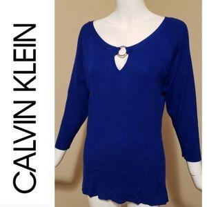 Calvin Klein Sweaters - Calvin Klein Scoop-neck Sweater (NWOT)
